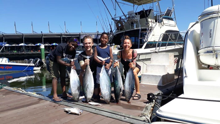 Durban Family Fishing Trips