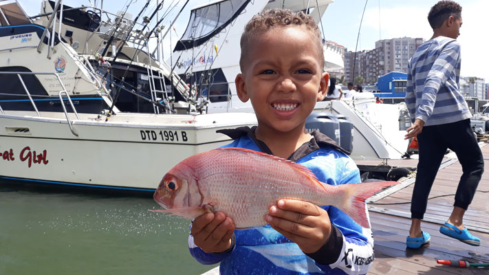 Kids Fishing Durban